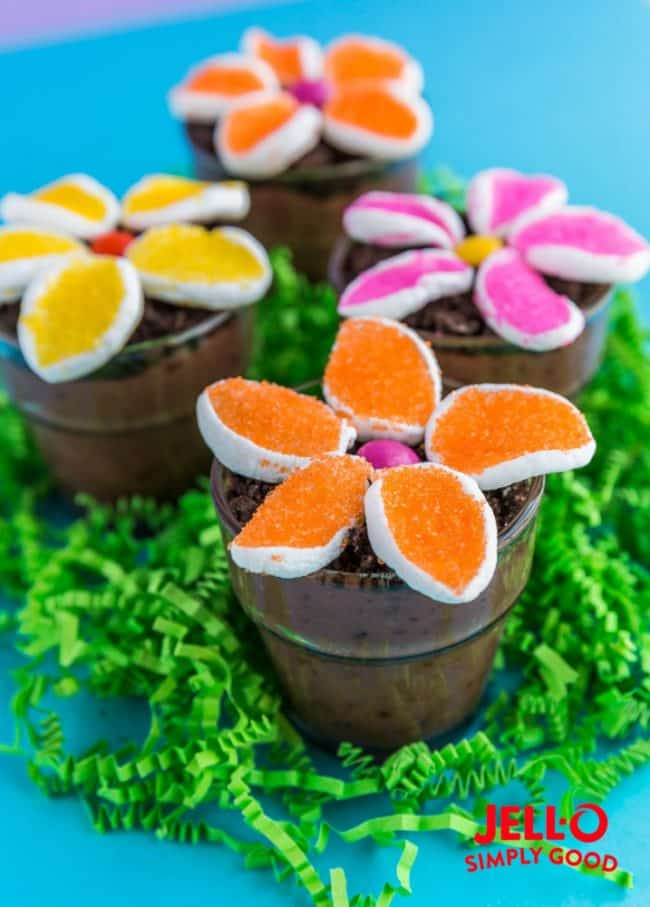 Love From The Oven & Flower Pot Pudding Dirt Cups \u2022 Love From The Oven