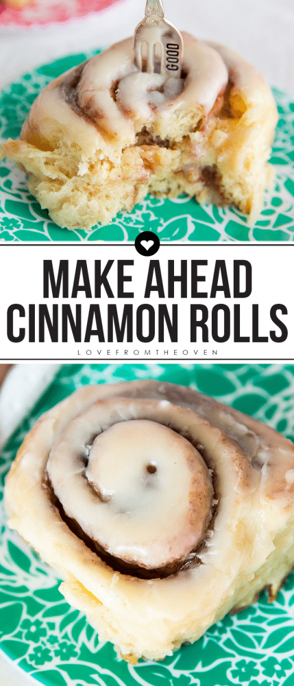 Make Ahead Overnight Cinnamon Rolls Recipe