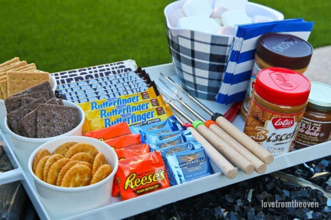 S'mores Ideas For A S'mores Party