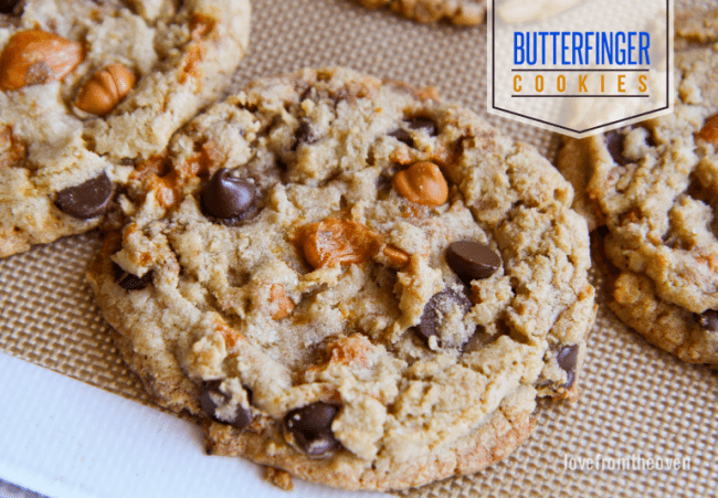 Butterfinger Cookie Recipe