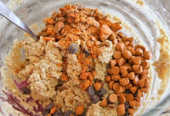 Butterfinger Bits Cookies