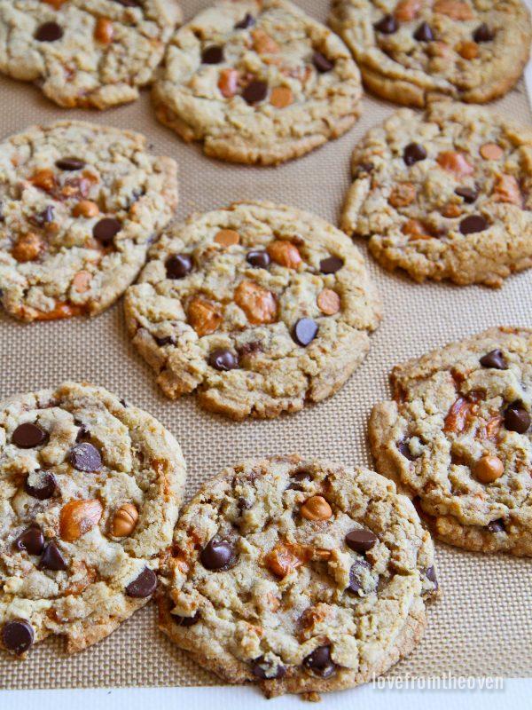 Butterfinger Butterscotch Cookies