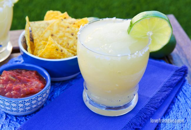 Frozen Margaritas At Home