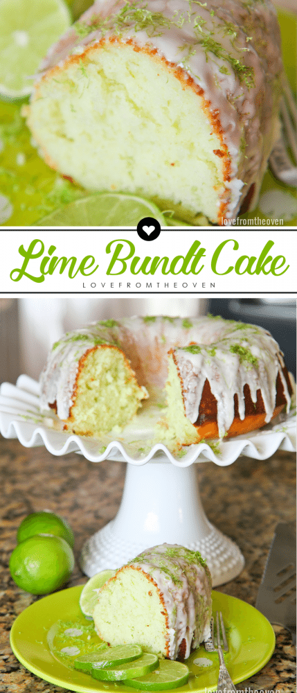 Easy Lime Bundt Cake Recipe