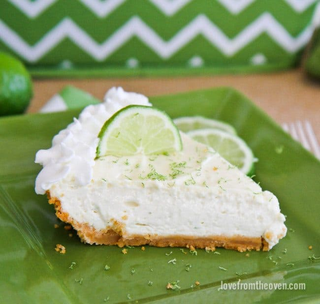 Margarita Cheesecake Pie