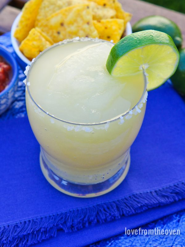 Ice Cream Maker Margaritas