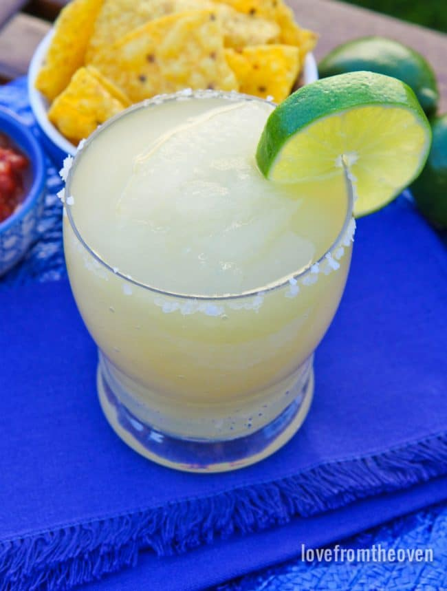 Easy Frozen Margaritas At Home With Your Ice Cream Maker