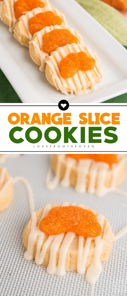 Easy Orange Slice Cookies