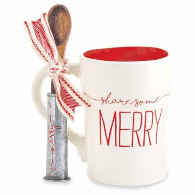 Rae Dunn Inspired Christmas Mug