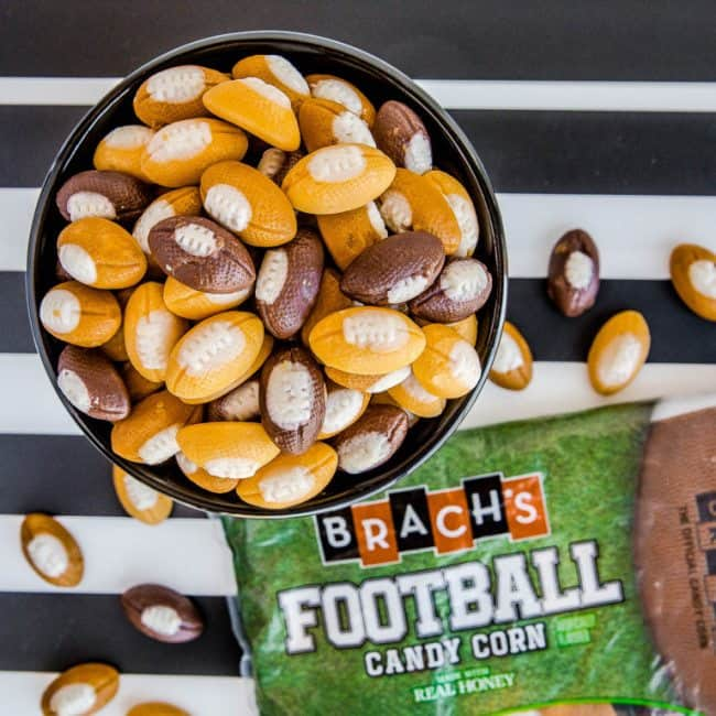 Football Candy Corn