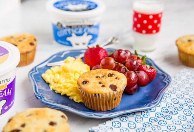 Sour Cream Muffin Recipe