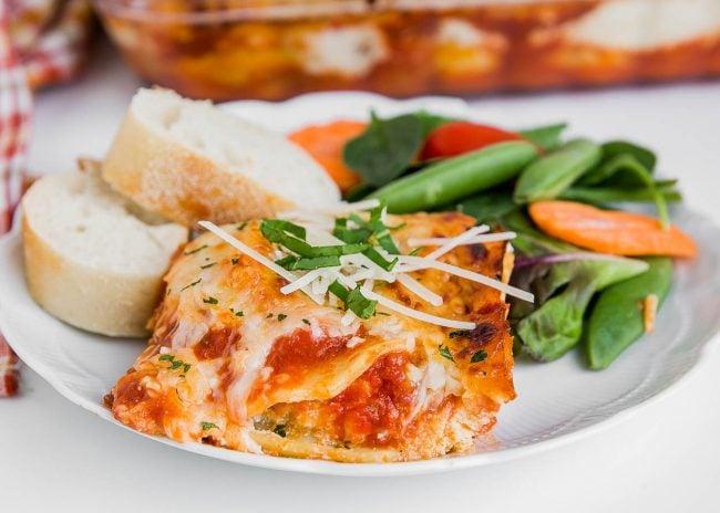 Easy Shortcut Lasagna Recipe