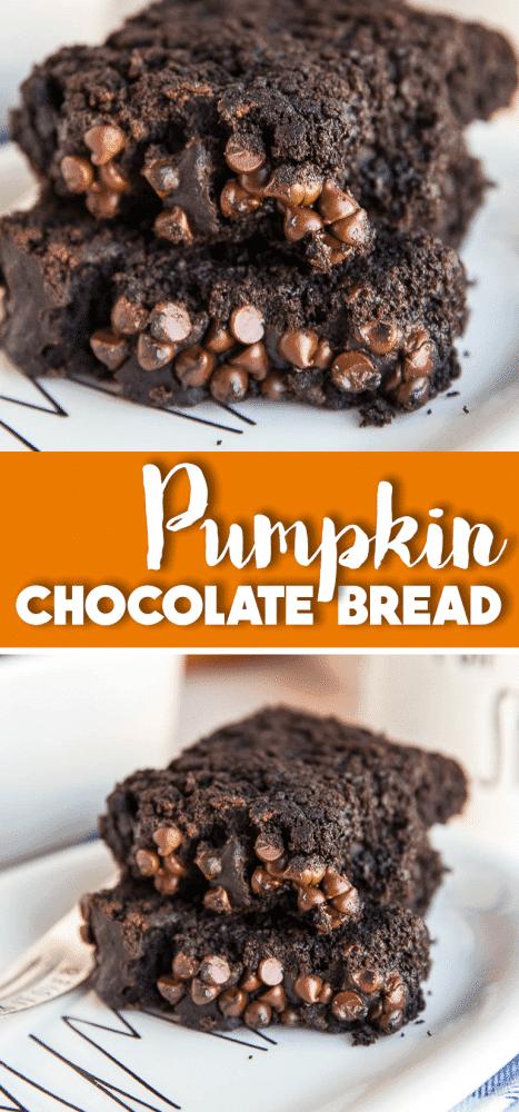 Pumpkin Chocolate Bread Recipe