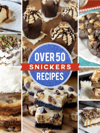 Recipes Using Snickers