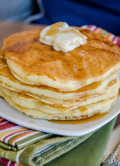 The Best Fluffy Pancakes Recipe