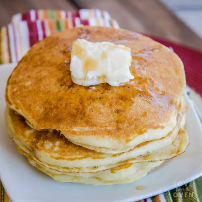 How to make homemade pancakes