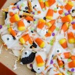 Easy Cookie Candy Corn Bark