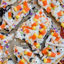 Cookie Candy Corn Bark