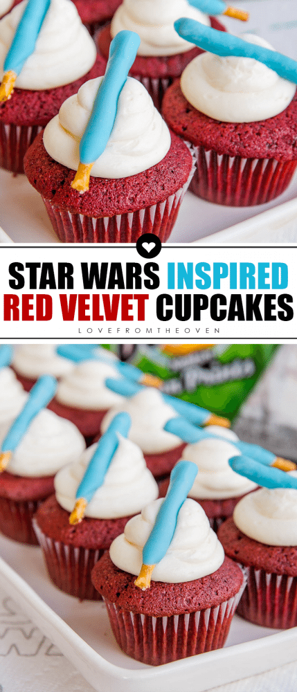 Red Velvet Cupcakes Star Wars Cupcakes