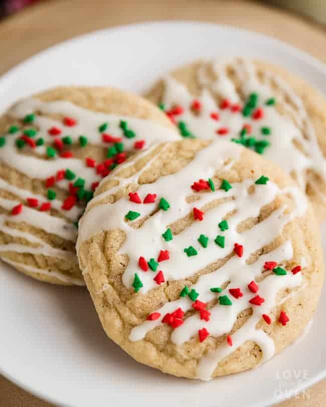 easy and delicious eggnog cookies and eggnog snickerdoodles