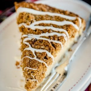 Eggnog Crumb Cake Recipe #eggnog #crumbcake #eggnogcake