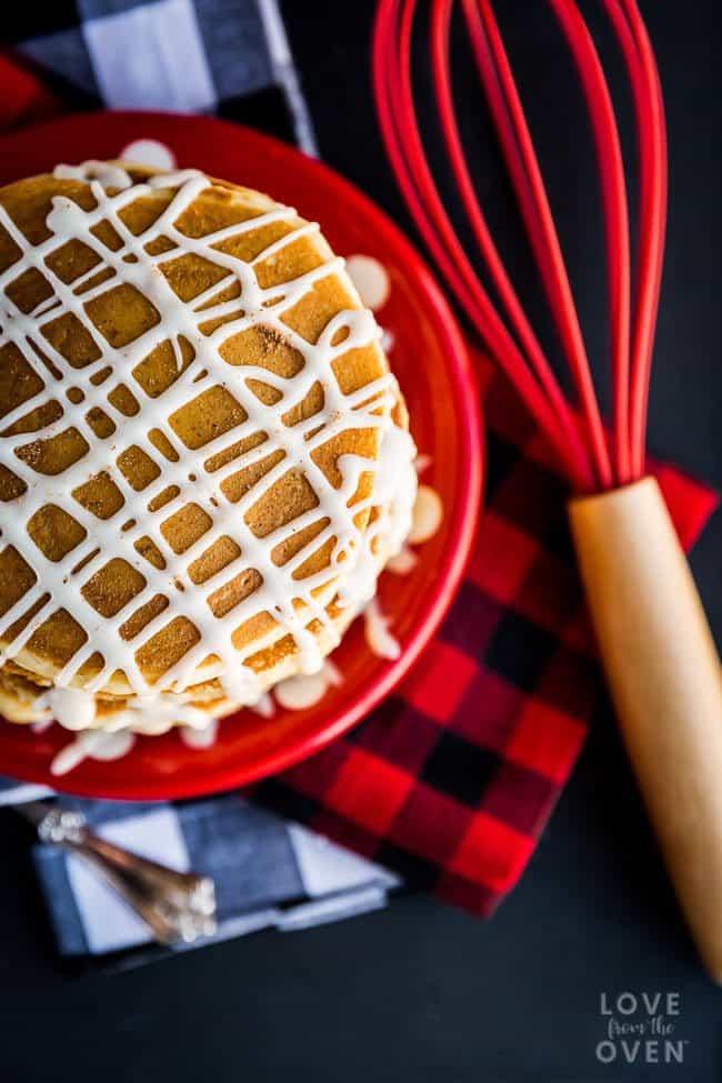 Eggnog Pancake Recipe