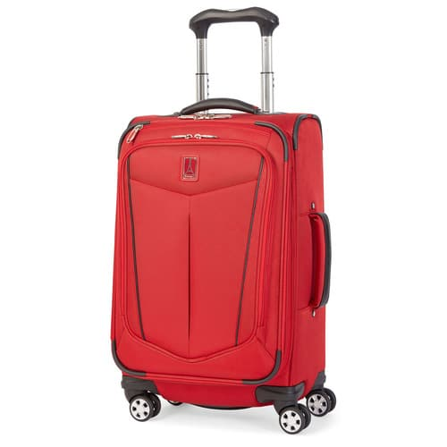 Lightweight full size suitcase