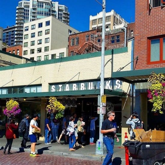 Original Starbucks Seattle