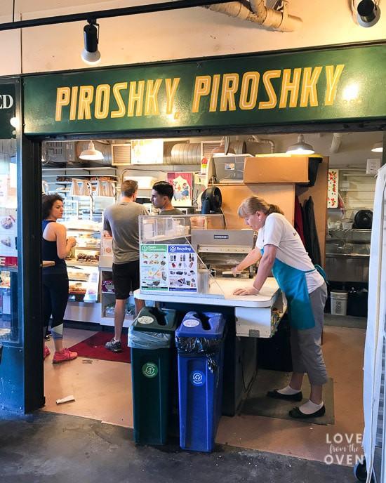 Piroshky Piroshky Pike Place
