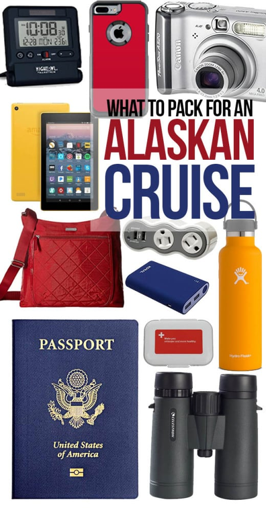 Cruise To Alaska Packing List