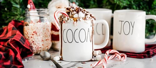 Easy Peppermint Hot Chocolate Recipe