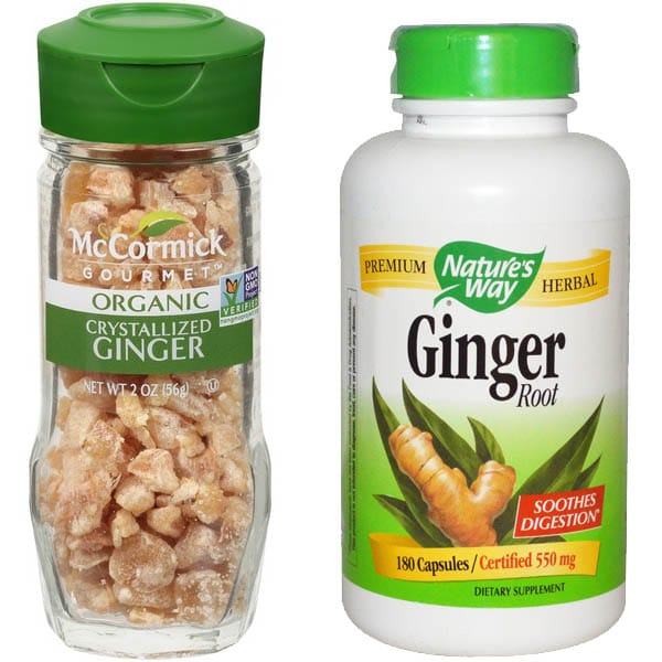 Ginger For Motion Sickness