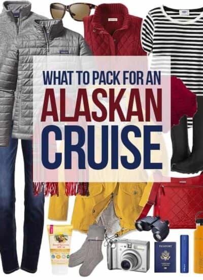 Packing List For Alaskan Cruise #alaska #cruise #alaskancruise