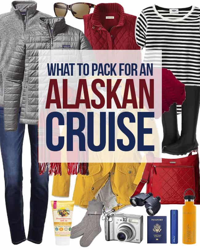 Packing List For Alaskan Cruise #alaska #cruise #alaskancruise