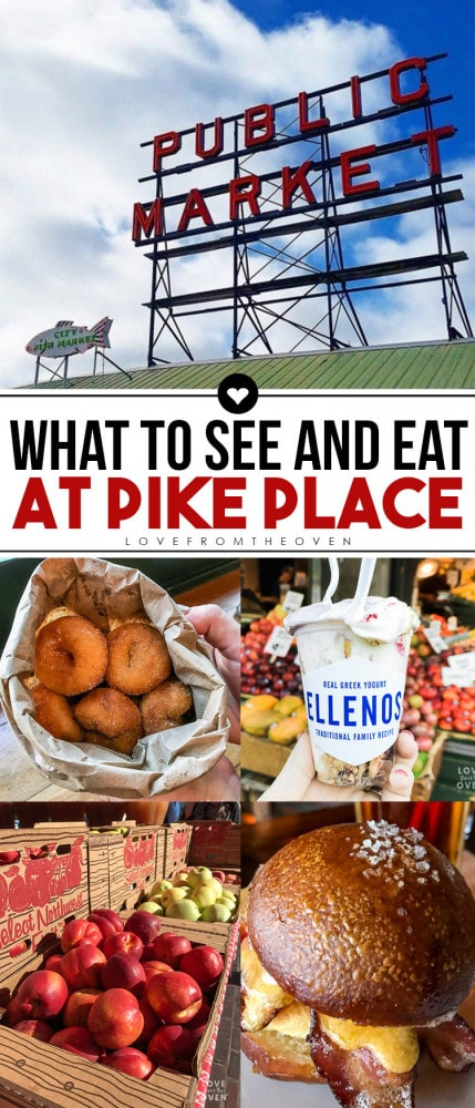 What To See And Eat At Pike Place Market #pikeplace #seattle