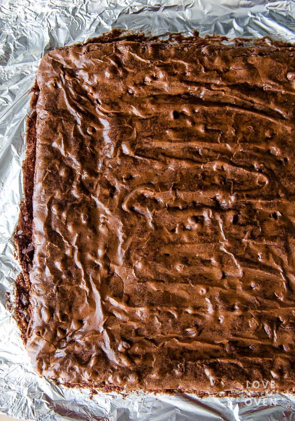 The best easy brownies. These are packed full of delicious chocolate flavor.
