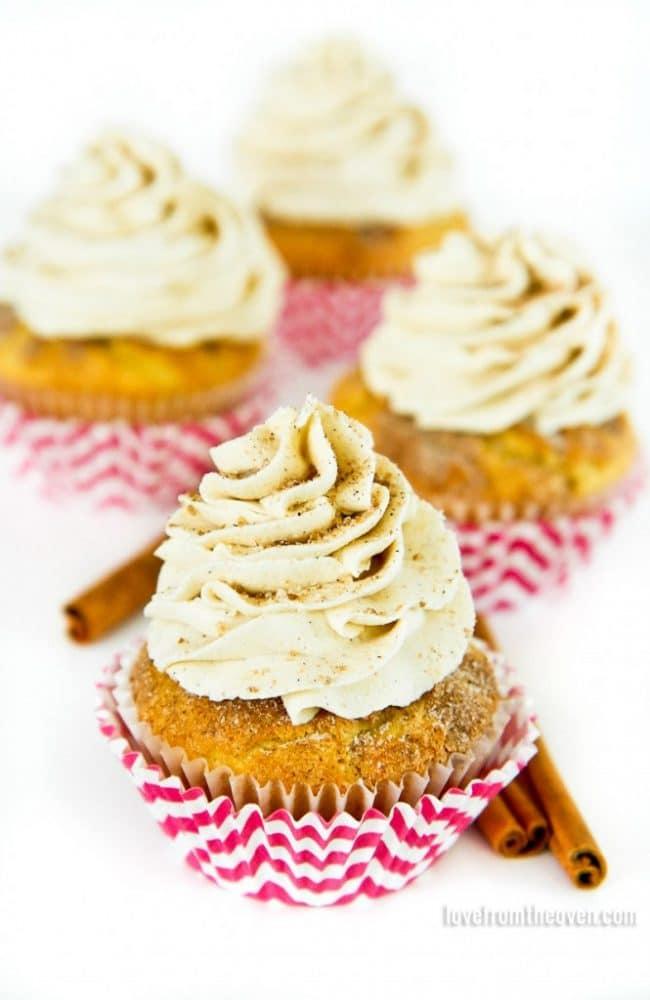 Vanilla Cinnamon Cupcakes