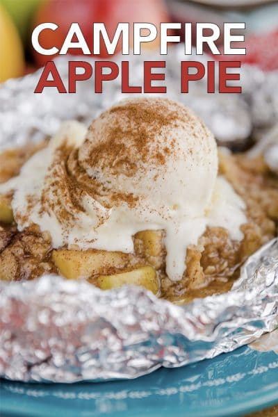 Campfire Apple Pie Packets