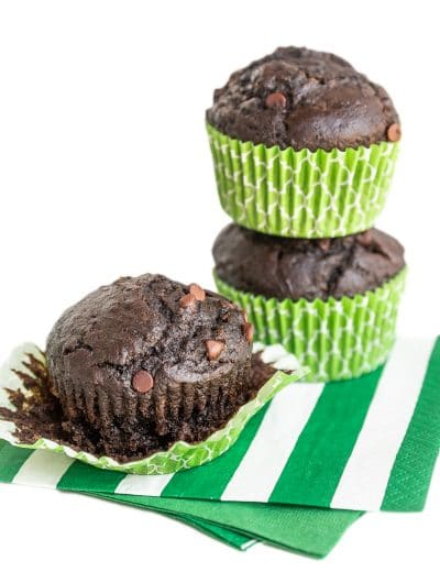 Easy Chocolate Chocolate Muffin Recipe
