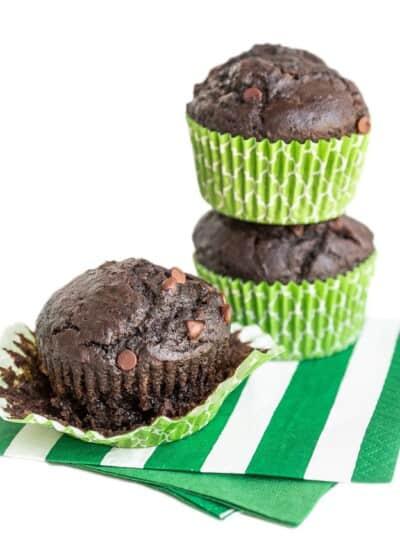 Easy Chocolate Chocolate Muffin Recipe