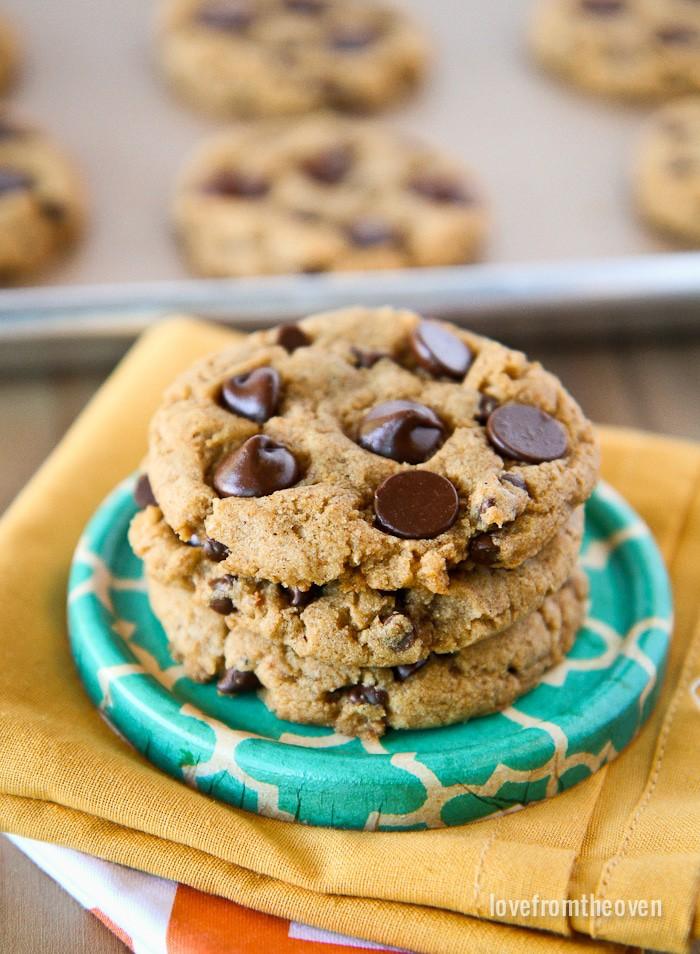 Chewy Pumpkin Cookies