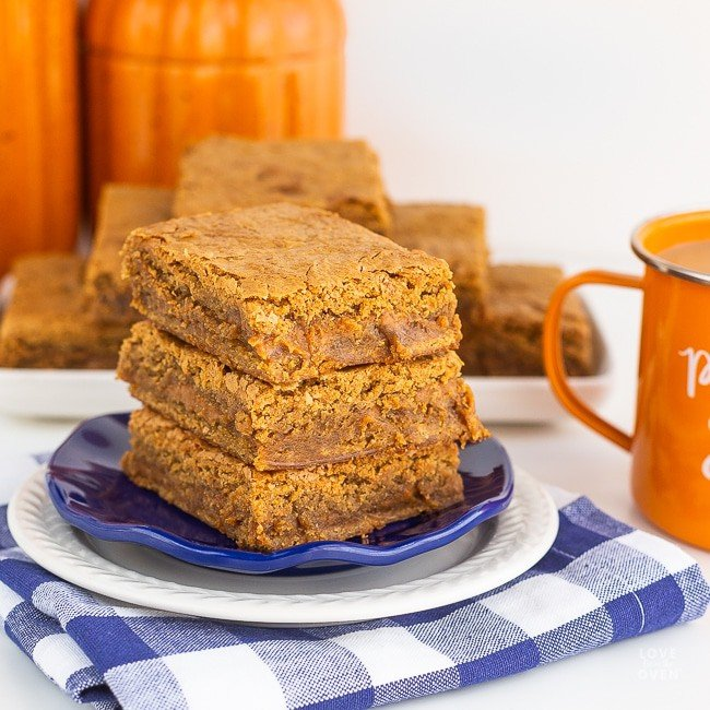 Pumpkin Blondie Recipe
