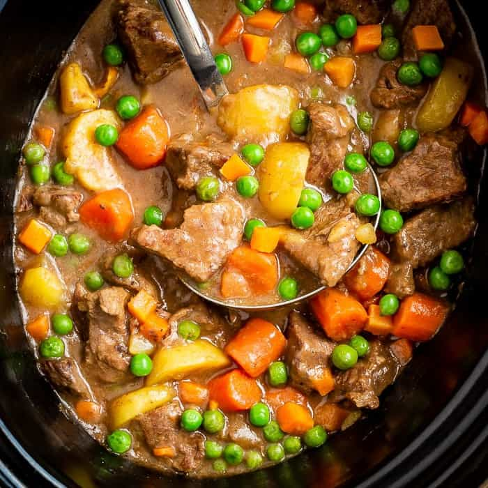 Beef Stew Crockpot Recipe Love From The Oven