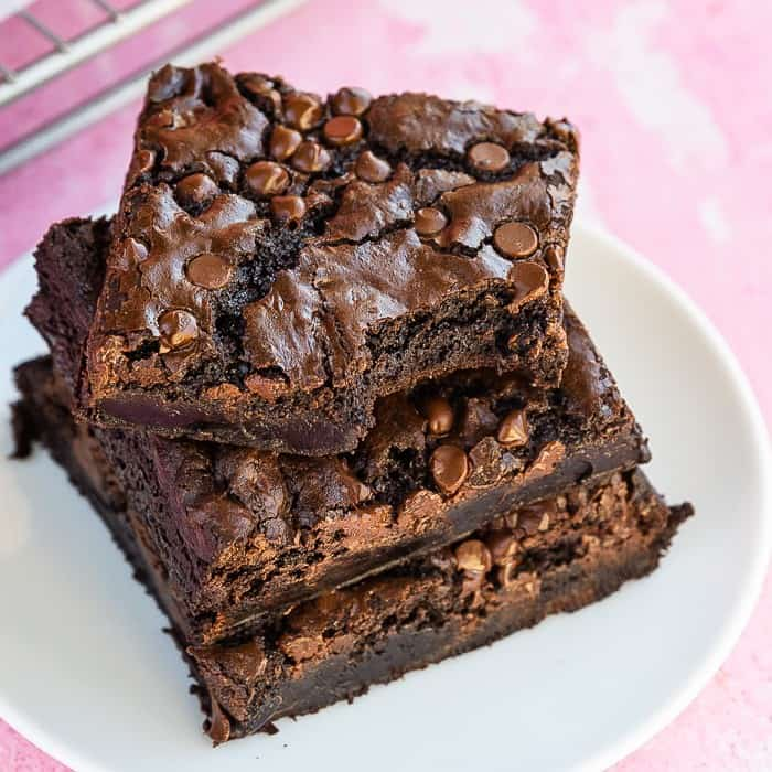 Homemade Brownies • Love From The Oven