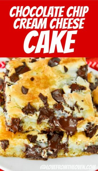Chocolate Chunk Cream Cheese Cake