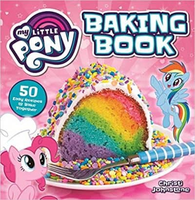 Cover of my little pony baking book cookbook