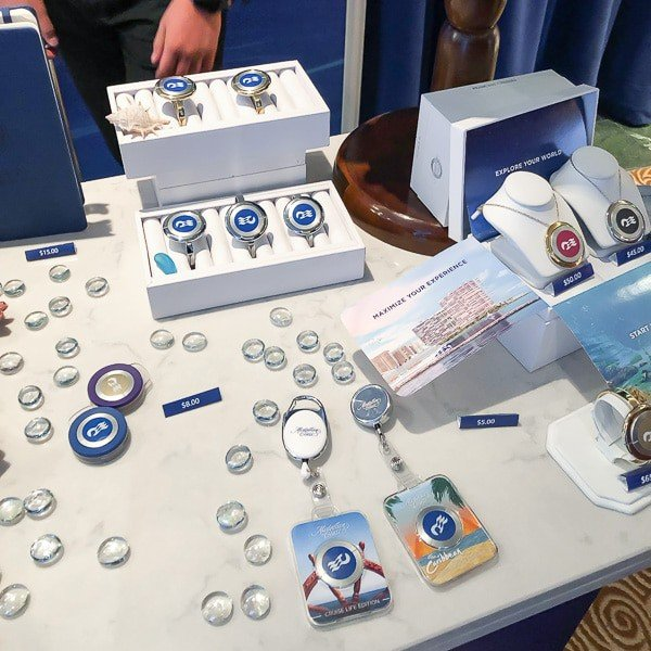 Variety of Ocean Medallion accessories