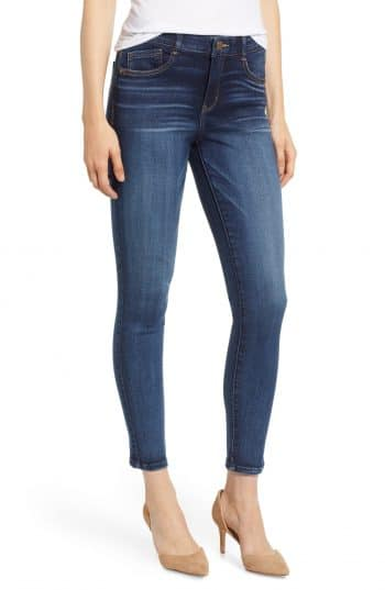 wit and wisdom jeans in a dark blue shade