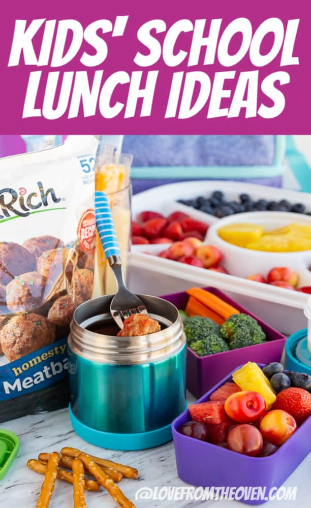 Kids School Lunch Ideas You'll Actually Use!