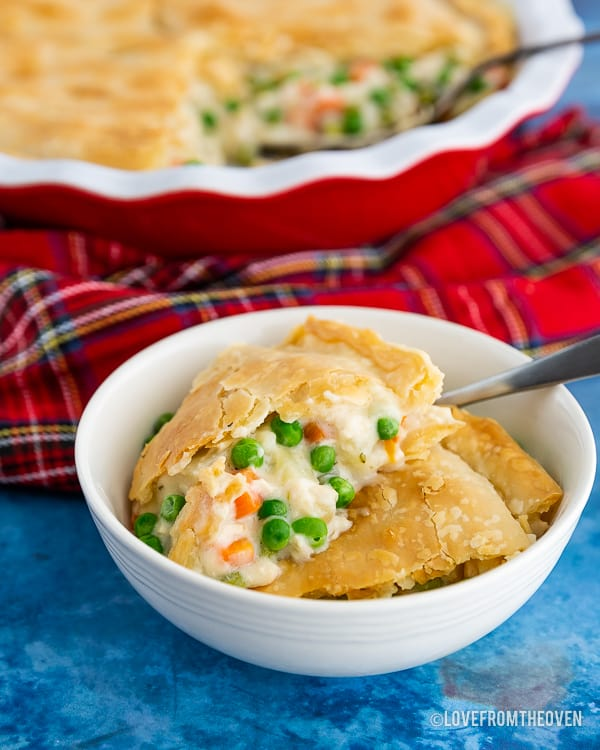 Easy Homemade Chicken Pot Pie Recipe